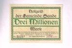 Schleswig Holstein, 3 Millionen Mark, Sande,