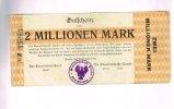 Schleswig Holstein, 2 Millionen Mark, Sande,