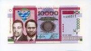 Burundi 10000 Francs,
