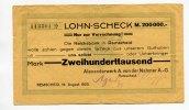 Remscheid, 200000 Mark, Alexanderwerk A.v.d.Nahmer A.-G.