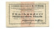 Northeim, 200 Milliarden Mark,