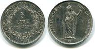 Italien / Lombardei-Venetien 5 Lire,
