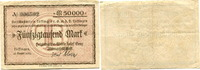 Baden/Löffingen, 50000 Mark Voschußverein Löffingen G.m.b.H,