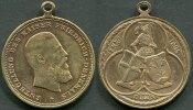 Kaiserreich Bronze Medaille ~ Fulda / Enthüllung des Kaiser Friedrich Denkmals ~