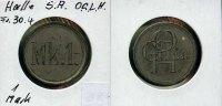 Deutschland/Halle/S., 1 Mark, O.G.L.H.,