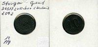 Deutschland/Striegau(Sln), 10 Pfg., Granit-Werke v.C.Kulmitz G.M.B.H.,