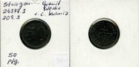 Deutschland/Striegau(Sln), 50 Pfg., Granit-Werke v.C.Kulmitz G.M.B.H.,