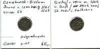Osnabrück-Bistum, Pfennig, Bruno v.Isenberg 1261-1268,