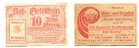 Deutschland/Osnabrück, 10 Pfennig-Briefmarkengeld, Erste Osnabrücker Dampfwaschanstalt Carl Reuning,