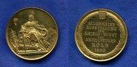 Deutschland/Köln, Br.-Medaille vergoldet, Allgemeine Ausstellung für Kriegskunst und Armeebedarf,