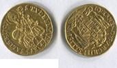 1/4 Dukat 1707 Salzburg, Johann Ernst v.Thun u.Hohenstein 1687-1709, f.vz  355,00 EUR  zzgl. 5,00 EUR Versand