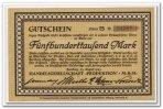 Deutschland 500.000 Mark ~ Hamburg - Handelsgesellschaft Produktion MBH ~