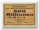 Deutschland 500 Mio. Mark ~ Hamburg / Bergedorf - Magistrat ~