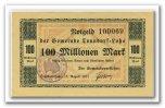 Deutschland 100 Mio. Mark ~ Hamburg / Tonndorf Lohe - Gemeinde ~