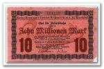 Deutschland 10 Mio. Mark ~ Hamburg / Wandsbek - Kakao Kompagnie Theodor Reichardt ~
