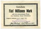Deutschland, 5 Millionen Mark, ~ Bergisch Gladbach / Berzelius Metallhütten-AG ~
