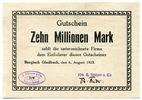 Deutschland, 10 Millionen Mark, ~ Bergisch Gladbach / H. Köttgen & Cie ~