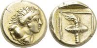 Griechen LESBOS. Mytilene. EL Hekte (Circa 377-326