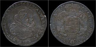 ducaton 1619 Brabant Brabant Albrecht & Isabella ducaton 1619 EF