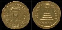 Byzanthine solidus Tiberius II AV solidus Constantinople mint