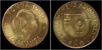 Tonga 20 pa'anga Gold Tonga 20 Pa'anga 1980