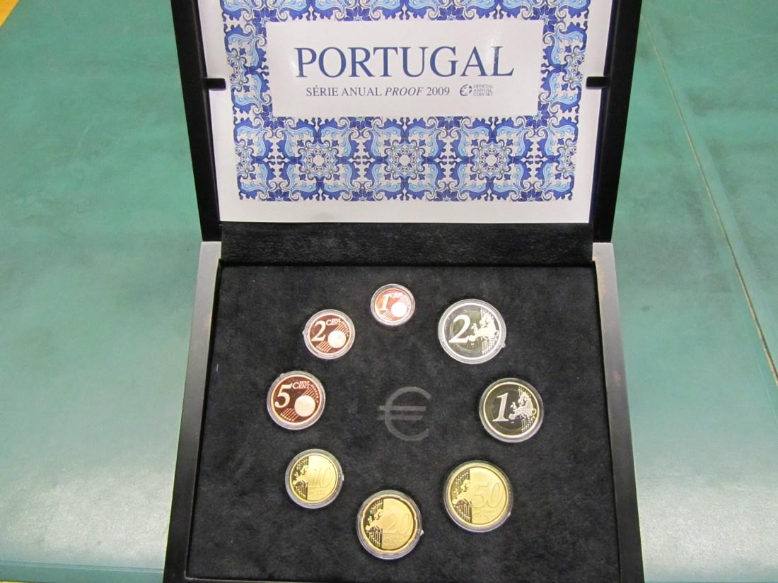 € 3.88 2009 PORTUGAL KURSMÜNZENSATZ - NUR 4000 AUFLAGE PP