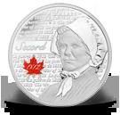 4 DOLLAR 2013 KANADA LAURA SECORD - HELDEN DES KRIEGES VON 1812 PP