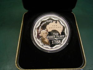 1 Dollar - FARBIG 2008 AUSTRALIEN THE FIRST FLETT - CAPITAIN ARTHUR PHILLIP PP