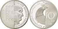 10 Franc 1986 FRANKREICH 100.GEBURTSTAG VON ROBERT SCHUMAN PP  45,00 EUR  zzgl. 6,00 EUR Versand