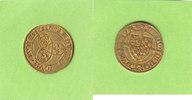 Pfalz Goldgulden GOLD, Ludwig IV. der Sanftmütige, Bacharach, äußerst selten
