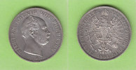 Vereinstaler 1861 Preußen hübsch vz/fast vz  78,00 EUR  zzgl. 3,50 EUR Versand