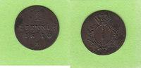 1 Pfennig 1810 A Preußen hübsch vz  29,00 EUR  plus 2,00 EUR verzending