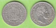 1/6 Taler 1825 A Preußen hübsch knappes vz, leicht justiert  42,50 EUR  plus 4,00 EUR verzending