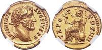 Roman Imperial Antoninus Pius Gold Aureus, Rome.