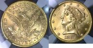 USA $5 Gold Half Eagle