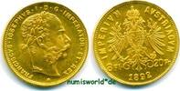 8 Florin 1892  Österreich - 8 Florin - 1892 Stg  317,00 EUR  zzgl. 6,00 EUR Versand