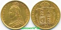 1/2 Sovereign 1892 Großbritannien Großbritannien - 1/2 Sovereign - 1892... 213,00 EUR  zzgl. 6,00 EUR Versand