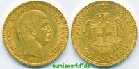 20 Drachmai 1884 Griechenland / Greece Griechenland / Greece - 20 Drach... 360,00 EUR  zzgl. 6,00 EUR Versand
