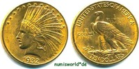 10 Dollars 1932 USA USA - 10 Dollars - 1932 vz+  805,00 EUR  zzgl. 6,00 EUR Versand
