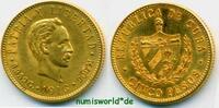 5 Pesos 1916 Cuba Cuba - 5 Pesos - 1916 vz/Stg  490,00 EUR  zzgl. 6,00 EUR Versand