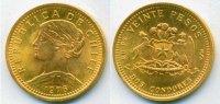 20 Pesos 1976 Chile Chile - 20 Pesos - 1976 Stg  171,00 EUR  zzgl. 6,00 EUR Versand