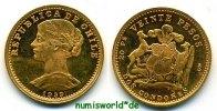20 Pesos 1959 Chile Chile - 20 Pesos - 1959 f. Stg  186,00 EUR  zzgl. 6,00 EUR Versand