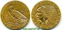 5 Dollars 1910 USA USA - 5 Dollars - 1910 vz  500,00 EUR  zzgl. 6,00 EUR Versand