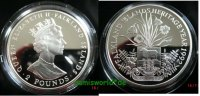 2 Pounds Falkland Islands - 2 Pounds - 1992