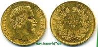 20 Francs 1857 Frankreich Frankreich - 20 Francs - 1857 vz+  323,00 EUR  zzgl. 6,00 EUR Versand