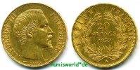20 Francs 1859 Frankreich Frankreich - 20 Francs - 1859 vz  316,00 EUR  zzgl. 6,00 EUR Versand
