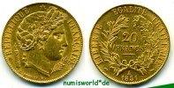 20 Francs 1851 Frankreich Frankreich - 20 Francs - 1851 vz  /  vz+  415,00 EUR  zzgl. 6,00 EUR Versand