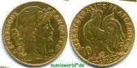 10 Francs 1912 Frankreich Frankreich - 10 Francs - 1912 ss  /  vz  169,00 EUR  zzgl. 6,00 EUR Versand
