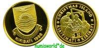 10 Dollars 1998 Kiribati Kiribati - 10 Dollars - 1998 PP  64,00 EUR  zzgl. 6,00 EUR Versand