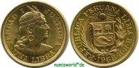 1 Libra 1968 Peru Peru - 1 Libra - 1968 Stg  395,00 EUR  zzgl. 6,00 EUR Versand